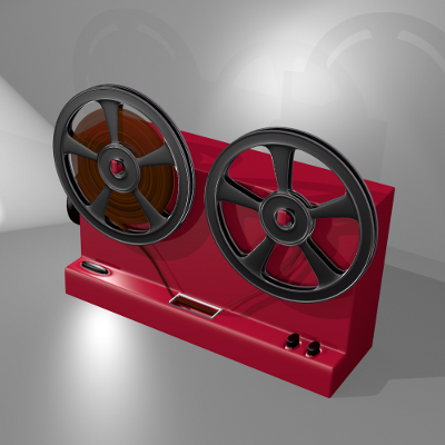 render lateral del proyector