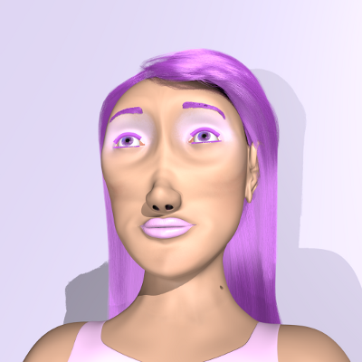 render facial distraida
